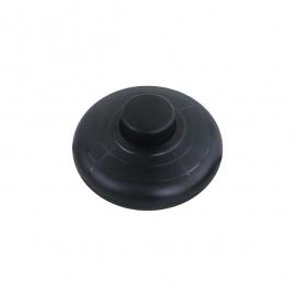 Wyłącznik nożny czarny okrągły