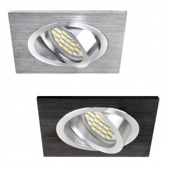 lampy led kwadratowe wpuszczane