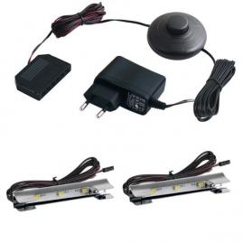 KLIPS LED METALOWY- ZESTAW 2 PKT.