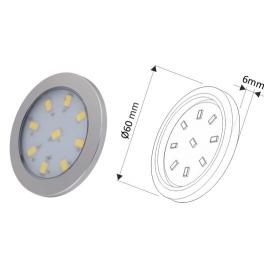 ORBIT XL 3W, ZESTAW 3 pkt. z jedną oprawą MASTER- oprawa LED bez wyłacznika