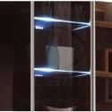 KLIPS LED METALOWY, ZESTAW 2 PKT.-podświetlenie półek szklanych, witryn