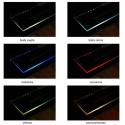 KLIPS LED METALOWY, ZESTAW 2 PKT.- różne barwy światła