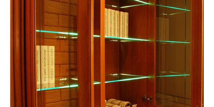Klipsy Led Nowoczesny Pomysł Na Oświetlenie Półek Design