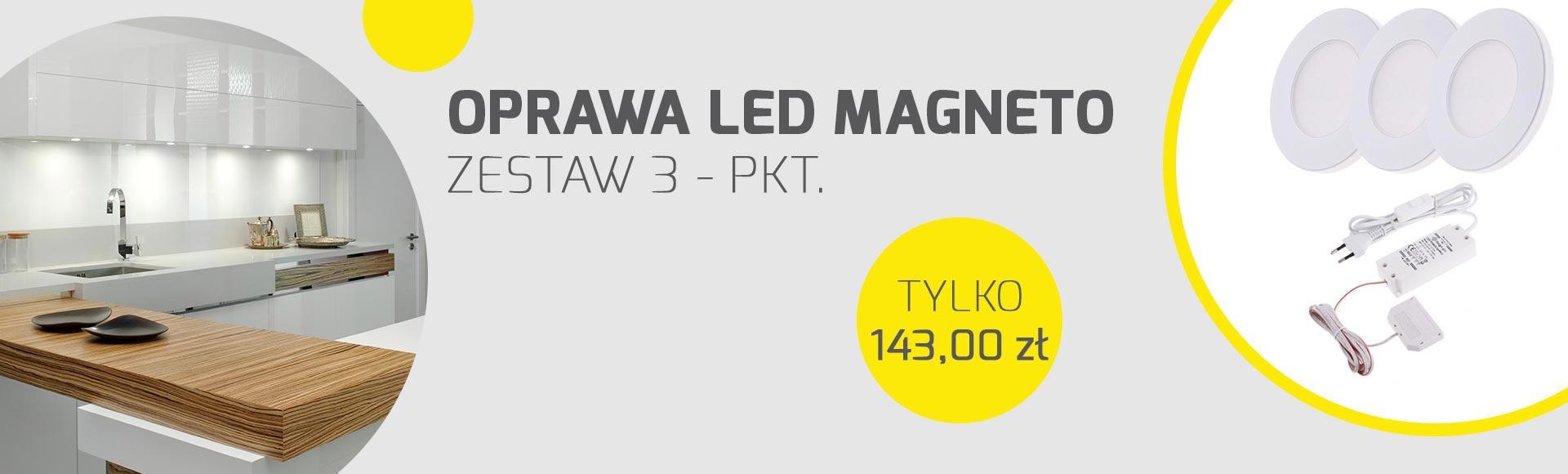 Magneto - oświetlenie LED